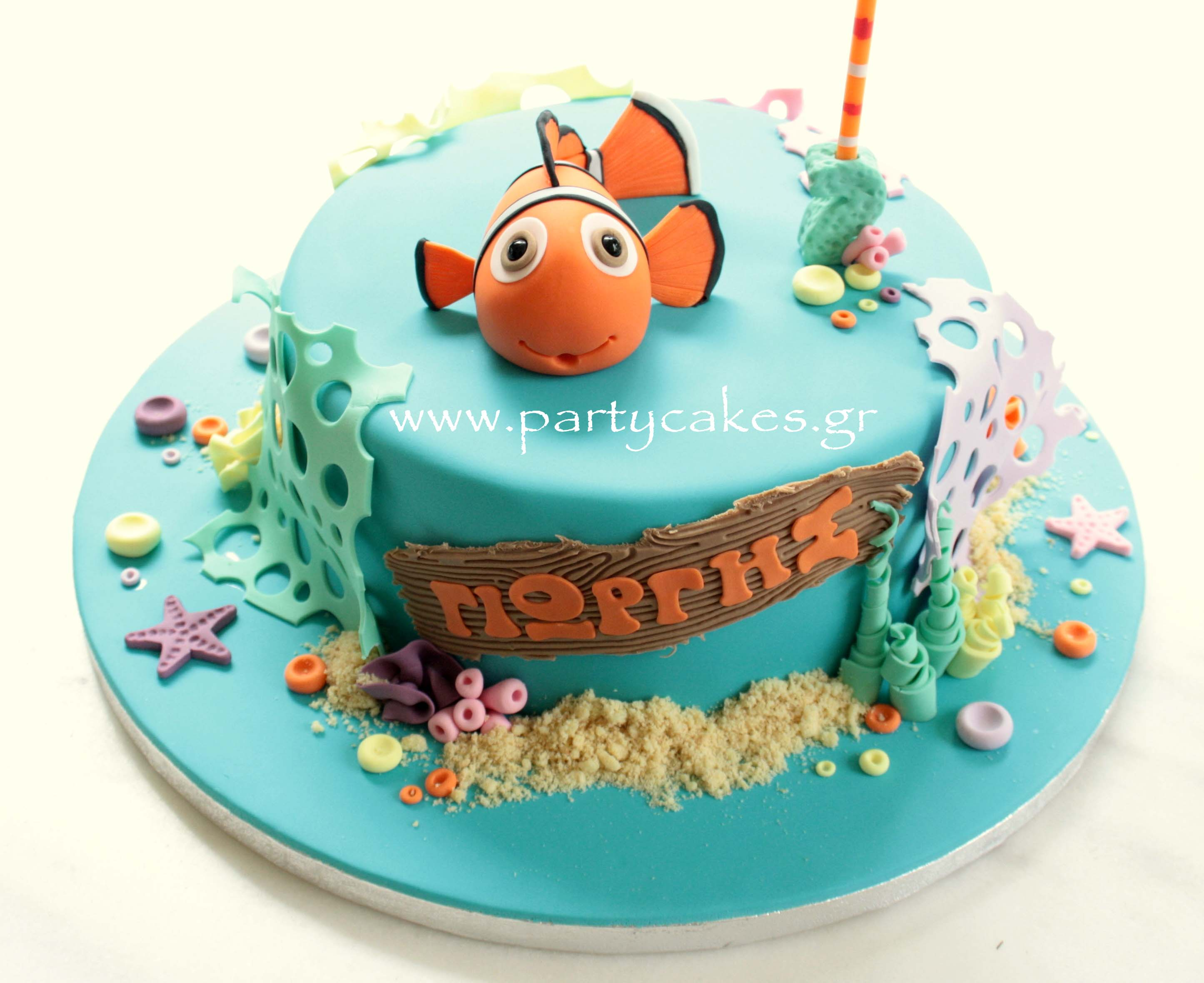 Nemo Cake Decorating Kit : 1000+ images about Odin s First Birthday on Pinterest ...